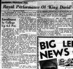 Akron Beacon Journal, December 7, 1960.